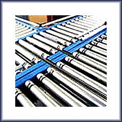 Screw Conveyors, Line Shaft Roller Conveyors, Belt Conveyors, Slat